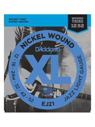 D'Addario EJ21 (Jazz Light)