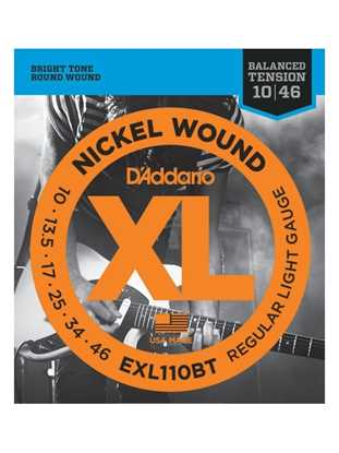 D'Addario EXL110BT Balanced Tension