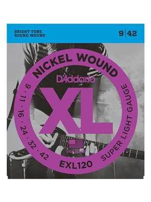 D'Addario EXL120 Super Light XL