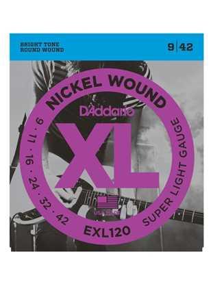 D'Addario EXL120 Super Light XL