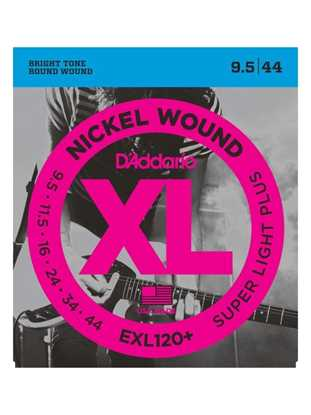 D'Addario EXL120+ Super Light Plus