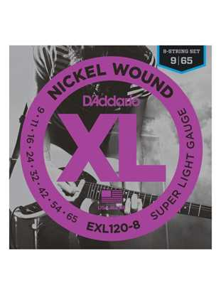 D'Addario EXL120-8 Super Light