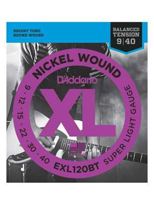 D'Addario EXL120BT Balanced Tension