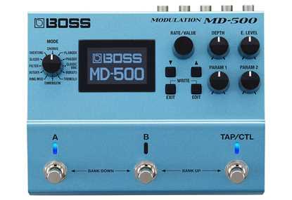 BOSS MD500 Modulation
