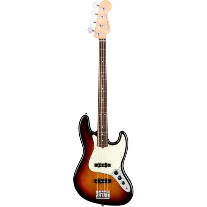 Fender American Professional Jazz Bass® Rosewood Fingerboard 3-Color Sunburst