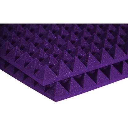 """Auralex Pyramids 2"""" Purple"""