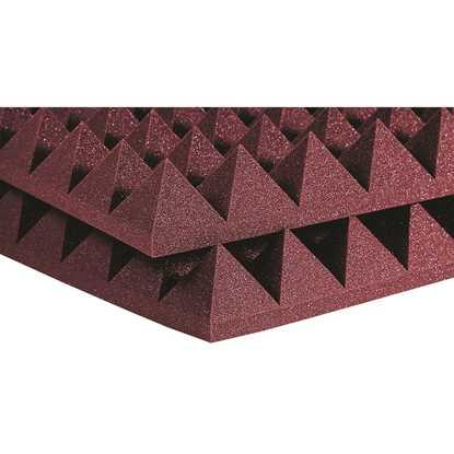 "Auralex Pyramids 4"" Burgundy"