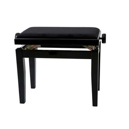 GEWA Piano Bench Deluxe High Gloss Black