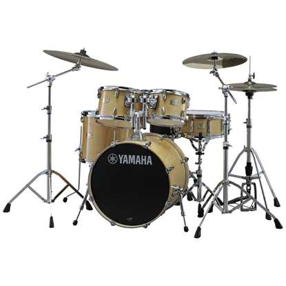 "Yamaha Stage Custom 20"" Natural Wood"