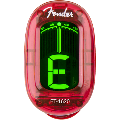 Bild på Fender California Series ClipOn Tuner Candy Apple Red