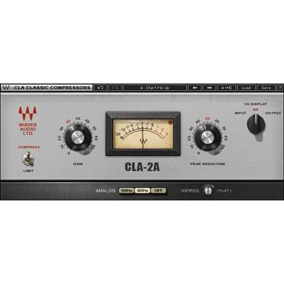 Waves CLA-2A Compressor/Limiter