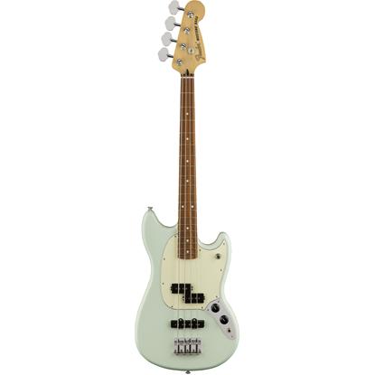 Bild på Fender Mustang® Bass PJ Pau Ferro Fingerboard  Sonic Blue
