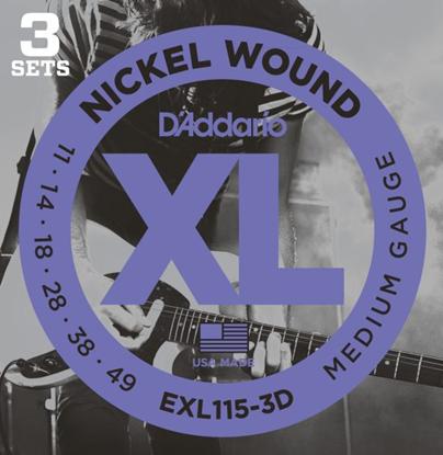 Bild på D'Addario EXL115-3D
