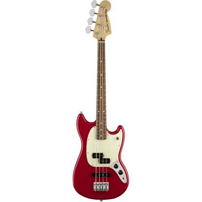 Fender Mustang® Bass PJ Pau Ferro Fingerboard Torino Red