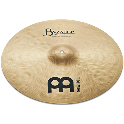 "Meinl 20"" Byzance Traditional Extra Thin Hammered Crash"