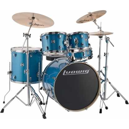 Bild på Ludwig Element Evolution 22  - Blue Sparkle