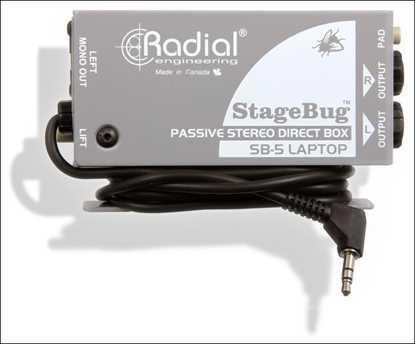 Bild på Radial StageBug SB-5