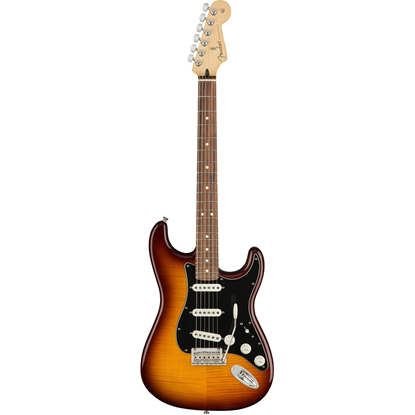 Bild på Fender Player Stratocaster® Plus Top Pau Ferro Fingerboard Tobacco Burst
