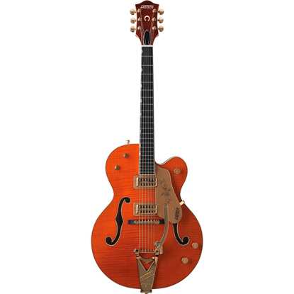 Bild på Gretsch G6120 Chet Atkins Hollow Body Tiger Maple
