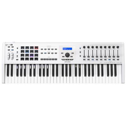 Bild på Arturia Keylab MKII 61 USB kontroller keyboard, vit