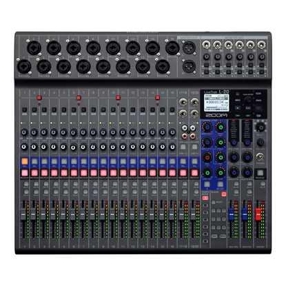 Bild på ZOOM LIVETRAK L-20 Mixer/Recorder