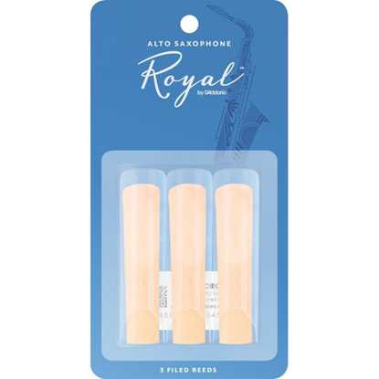Bild på Rico Royal Alt-sax 3-pack