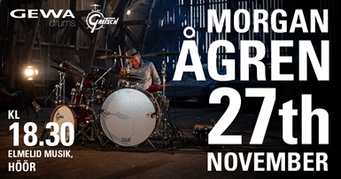 Gretsch - Morgan Ågren 27:e november