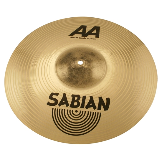 "Bild på Sabian AA 16"" Metal-x Crash, Brilliant finish"