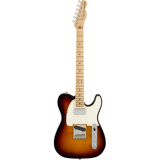 Fender American Performer Telecaster® With Humbucking Maple Fingerboard 3-Color Sunburst