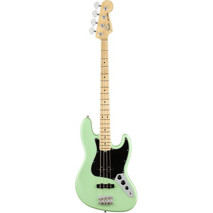 Fender American Performer Jazz Bass® Maple Fingerboard Satin Surf Green