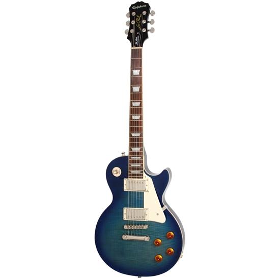 Les Paul Standard Plustop PRO W/PROBUCKERS & COIL-TAP Trans Blue