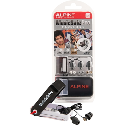 MusicSafe Pro Earplugs Black