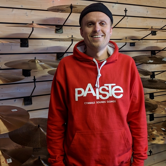 Bild på Paiste MUNKJACKA  RÖD/VIT