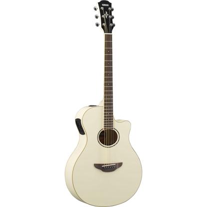 Yamaha APX600 Vintage White