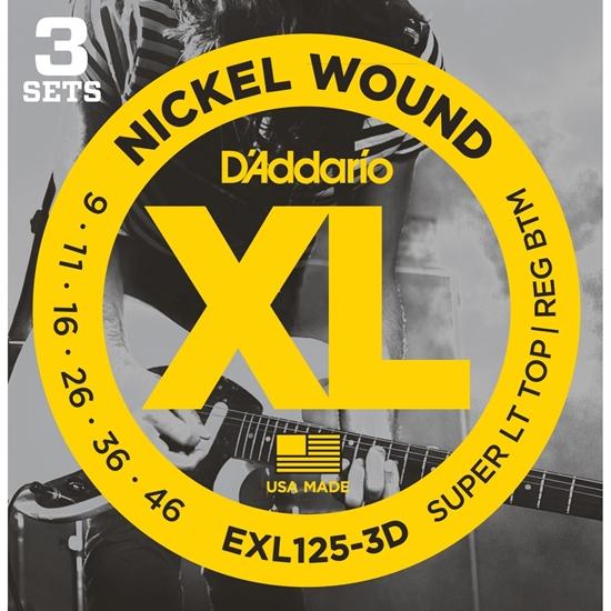 Bild på D'Addario 3-D Pack EXL125-3D