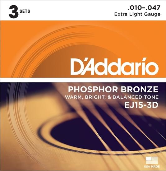 Bild på D'Addario 3-D Pack EJ15-3D