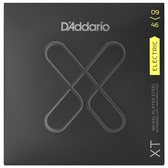 D'Addario XTE0946 Super Light Top Regular Bottom