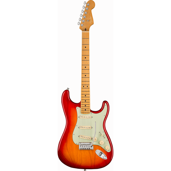 Bild på AM Ultra Stratocaster MN Plasma Red Burst