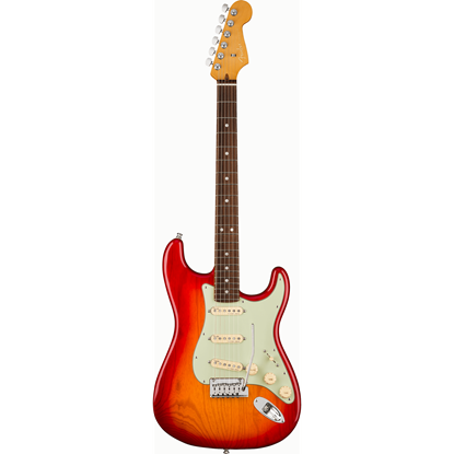 Bild på AM Ultra Stratocaster RW Plasma Red Burst