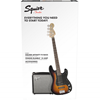 Bild på Squier Affinity  P-Bass Pack Brown Sunburst