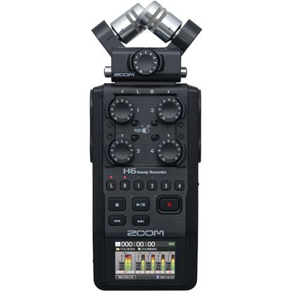 Bild på Zoom H6 Black HandyRecorder