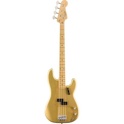 Bild på Fender American Original '50s P Bass MN Aztec Gold