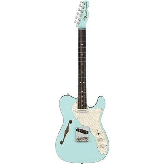 Bild på Two Tone Telecaster Ebony Fingerboard Daphne Blue LTD Edition