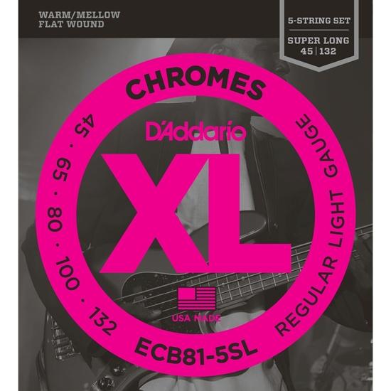 Bild på D'Addario Chromes bas ECB81-5SL