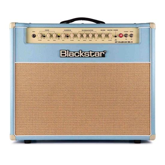 Bild på Blackstar HT Club 40 mk2 Black & Blue Edition