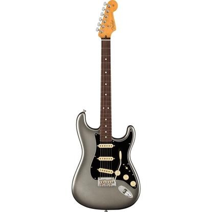 Bild på Fender American Professional II Stratocaster RW Mercury Elgitarr