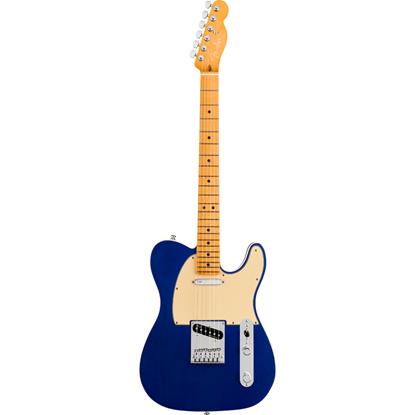 Bild på Fender American Ultra Telecaster® Maple Fingerboard Cobra Blue Elgitarr