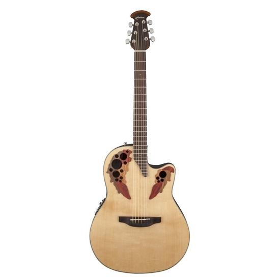 Bild på Ovation CE44-4 Celebrity Elite Mid Cutaway Stålsträngad Akustisk Gitarr