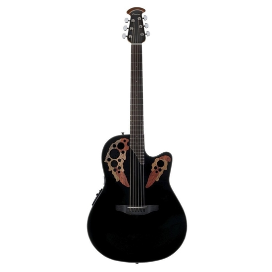 Bild på Ovation CE44-5 Celebrity Elite Mid Cutaway Stålsträngad Akustisk Gitarr