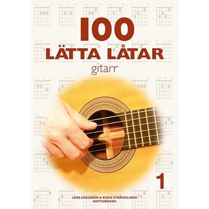 Bild på Litteratur 100 Lätta Låtar Gitarr 1